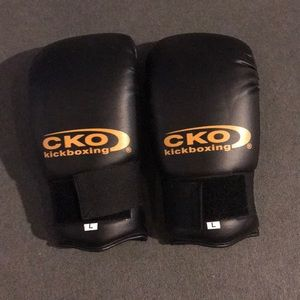Boxing gloves new never used size large